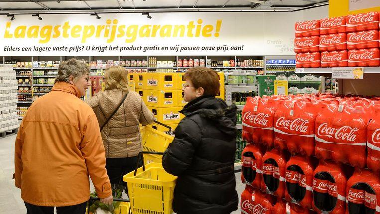 Een supermarkt in Breda. Beeld null