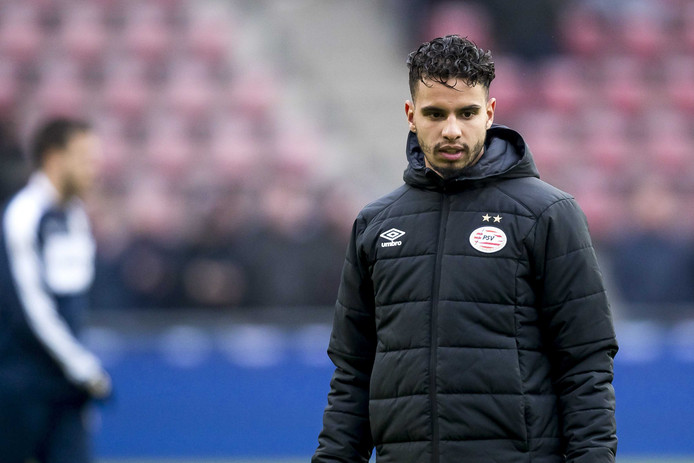 PSV speler Adam Maher