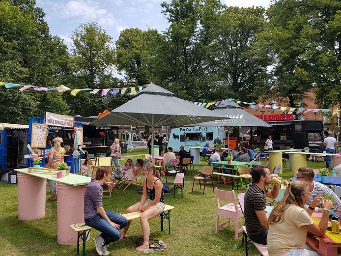Foodtruckfestival Toost in Bergen op Zoom.