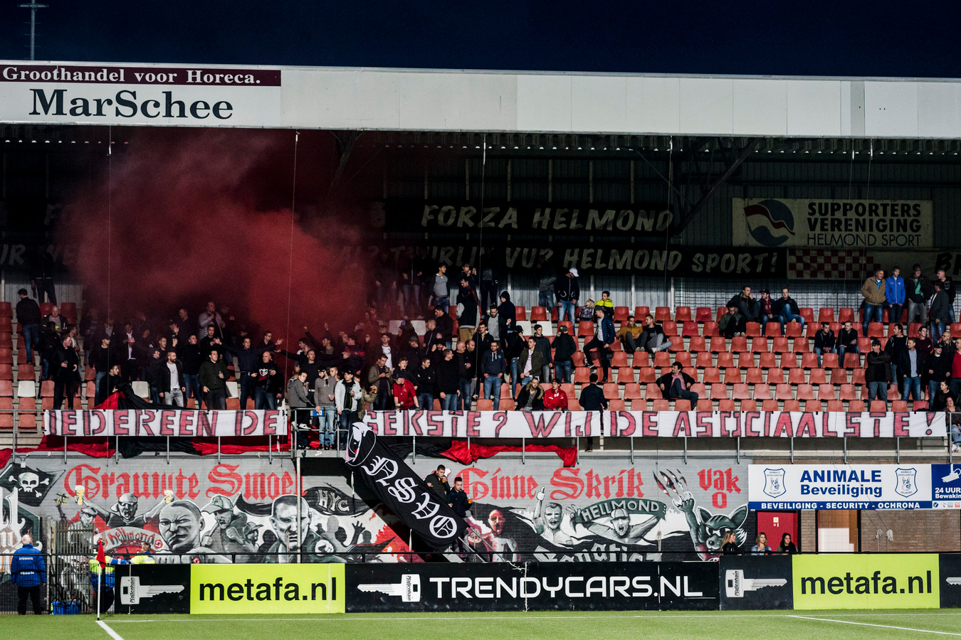 Helmond Sport-supporters.