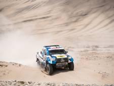 Van Loon verliest kans op topklassering in Dakar Rally na zware derde etappe
