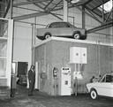 Een Dafje op het dak van een kantoortje in een garage. Is de foto in Eindhoven gemaakt en waarom? Het ED zoekt naar antwoorden
