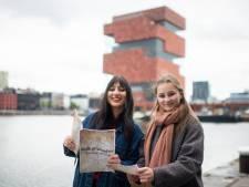 Studenten maken Walk of Wonders, een interactieve wandeling in Antwerpen