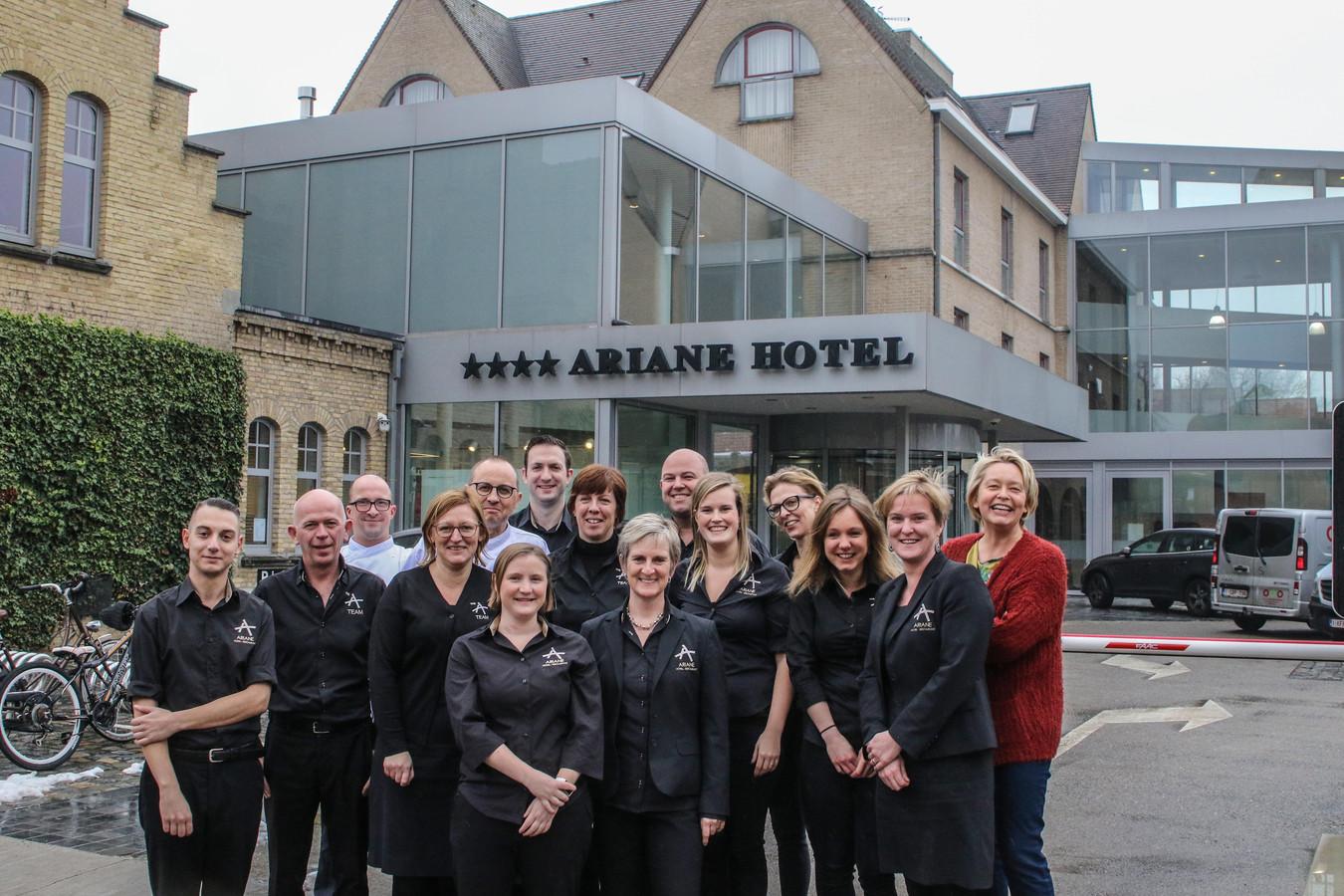 """""""Dankzij de volledige ploeg behaalden we een mooie score"""", klinkt het bij Ariane Hotel."""