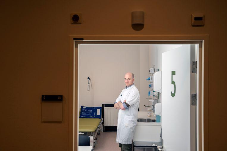 Oncoloog bij het UMCG Schelto Kruijff. Beeld Reyer Boxem