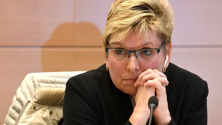 Staatssecretaris voor Gelijke Kansen Elke Sleurs. Beeld Photo News