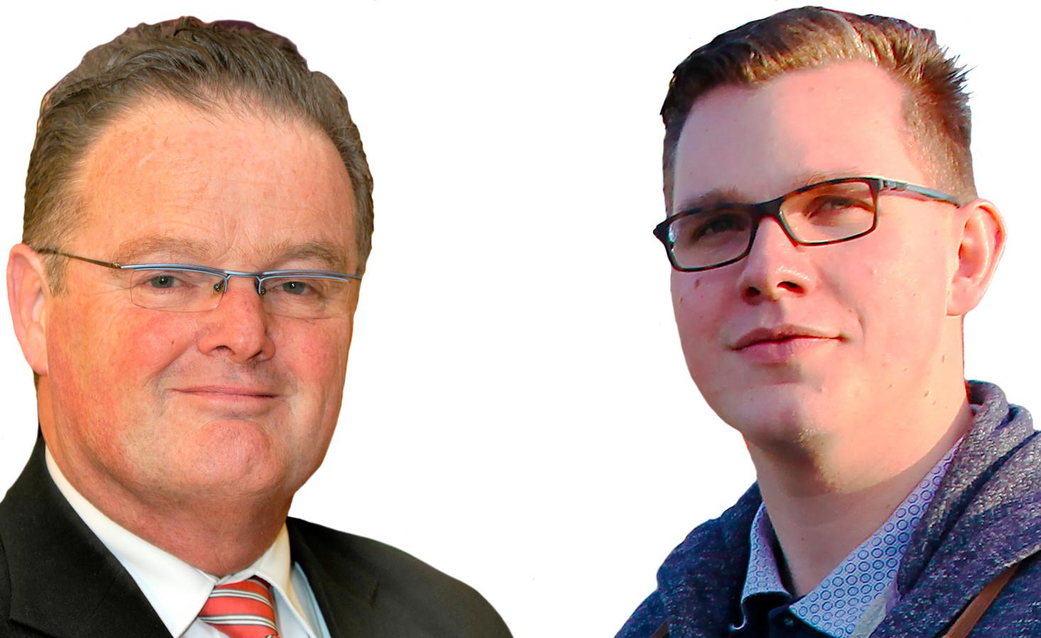 Peter van Dijk en Vincent Bosch PVV Zeeland