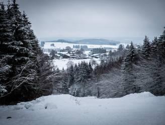 Volgende week mogelijk opnieuw sneeuw in de Ardennen
