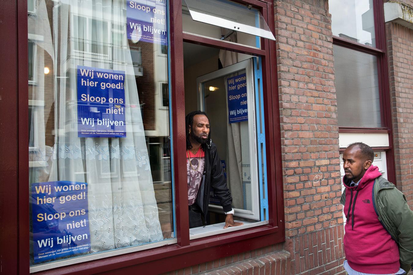 De Tweebosbuurt in Rotterdam.