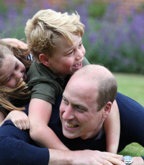 Kate en William delen video van hun kinderen