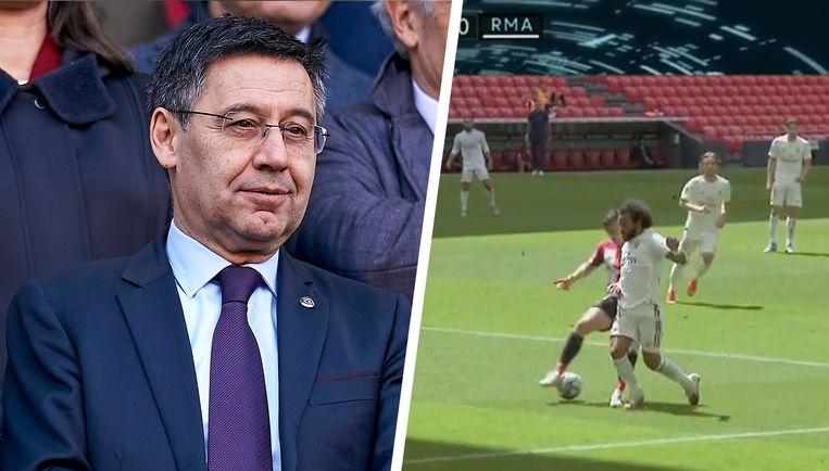 Bartomeu en de bewuste penalty-fase in Bilbao-Real.