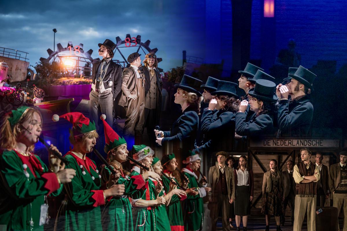 Acht talenten krijgen via Wilminks Kweek de kans workshops te volgen en mee te doen in theaterproducties.