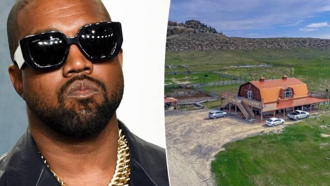Kanye West vend son immense ranch pour 11 millions de dollars