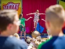Kinderen basisschool De Meerhoef uit Veldhoven voor één dag circusartiest