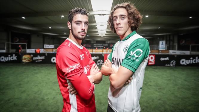 """Tweelingsbroers Leonardo (Belisia) en Andrea (Hades) Cascio voor het eerst tegenover elkaar: """"Al wekenlang is dit duel het gespreksonderwerp nummer één"""""""