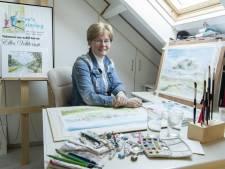 Haaksbergse Elles exposeert aquarellen in Gelselaar