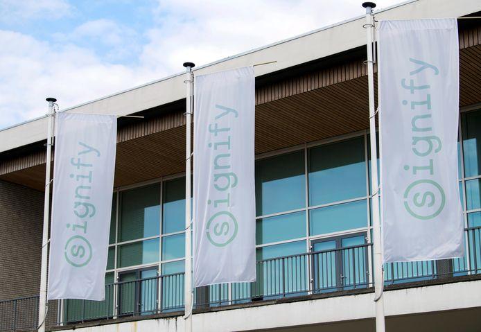 Het hoofdkantoor van Signify in Eindhoven.