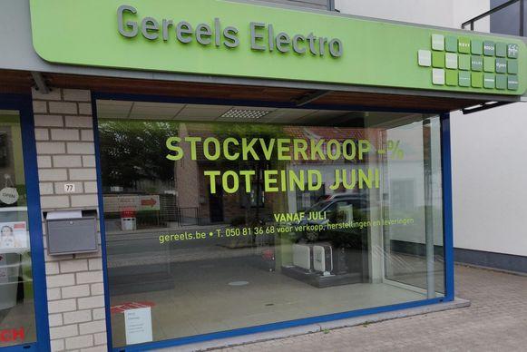 Gereels Electro in de Constant Permekelaan.