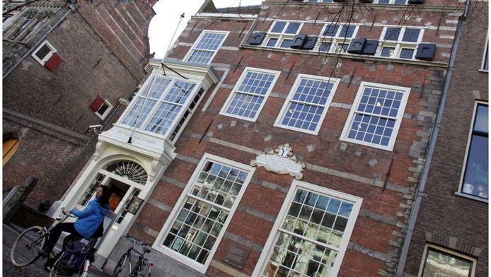 Het archiefgebouw aan de Oude Delft.