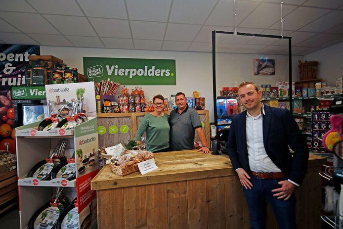 In september onderging de winkel nog een verbouwing: van kruidenierswinkel naar franchisevestiging van Boon Food Group.