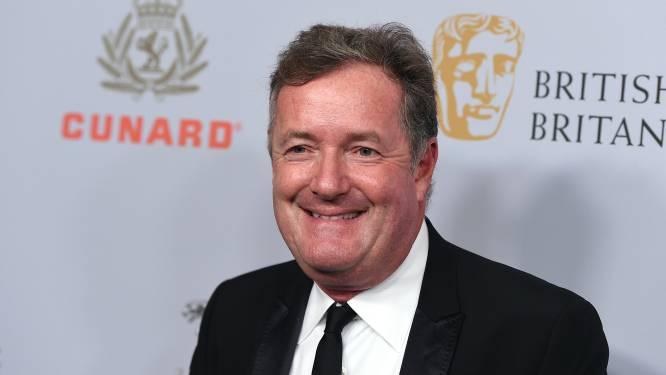 """Controversiële Piers Morgan krijgt nieuw programma: """"Eigenlijk is Meghan geweldig geweest voor m'n carrière"""""""