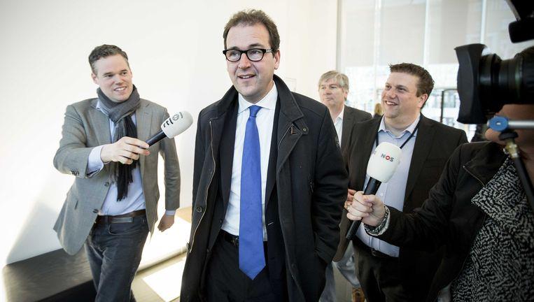 Minister Lodewijk Asscher (M) van Sociale Zaken. Beeld ANP