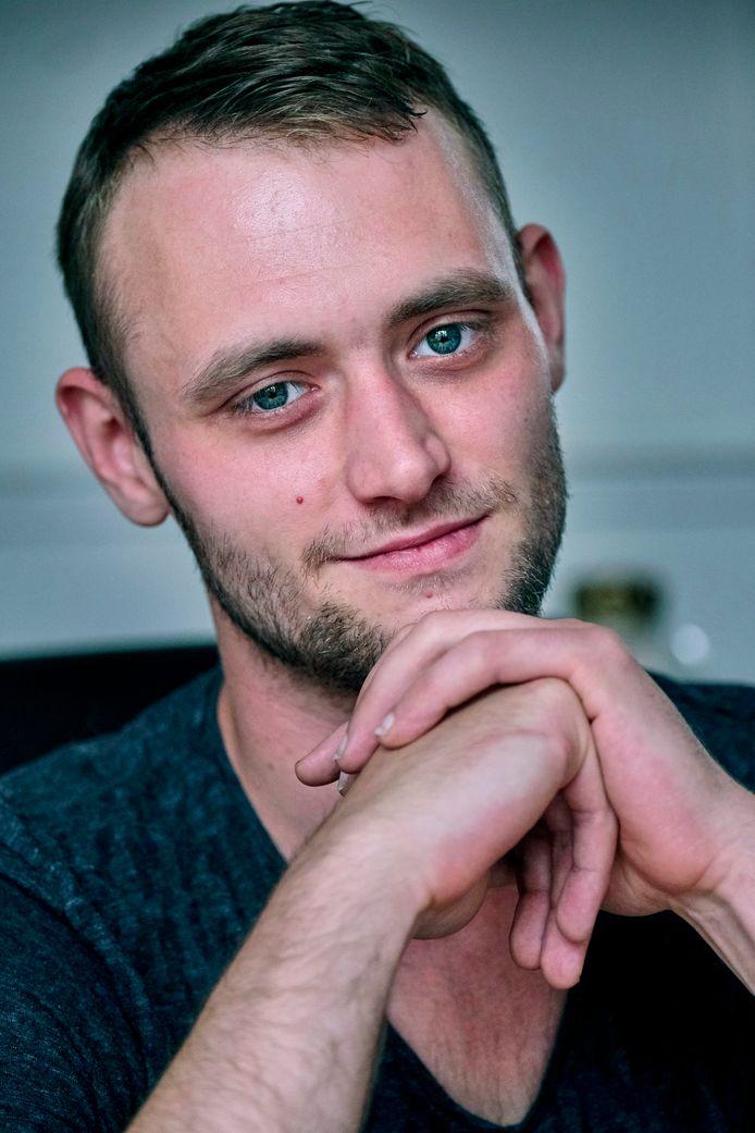 Rudy Wolters lijdt aan clusterhoofdpijn. ,,Het is alsof iemand je achter je ogen met een ijspriem steekt.''