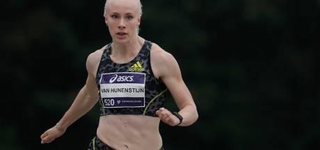 Zielsgelukkige sprintster Marije van Hunenstijn: 'Wat mij betreft stappen we nu in het vliegtuig'