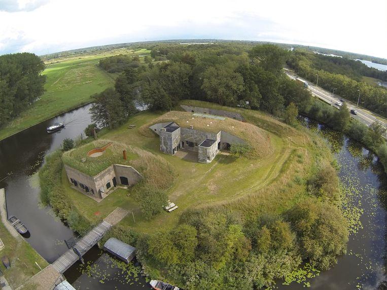 Fort Kijkuit. Beeld Natuurmonumenten / Gertjan de Boer