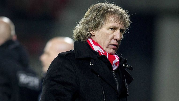 AZ-trainer Gertjan Verbeek. Beeld ANP Pro Shots