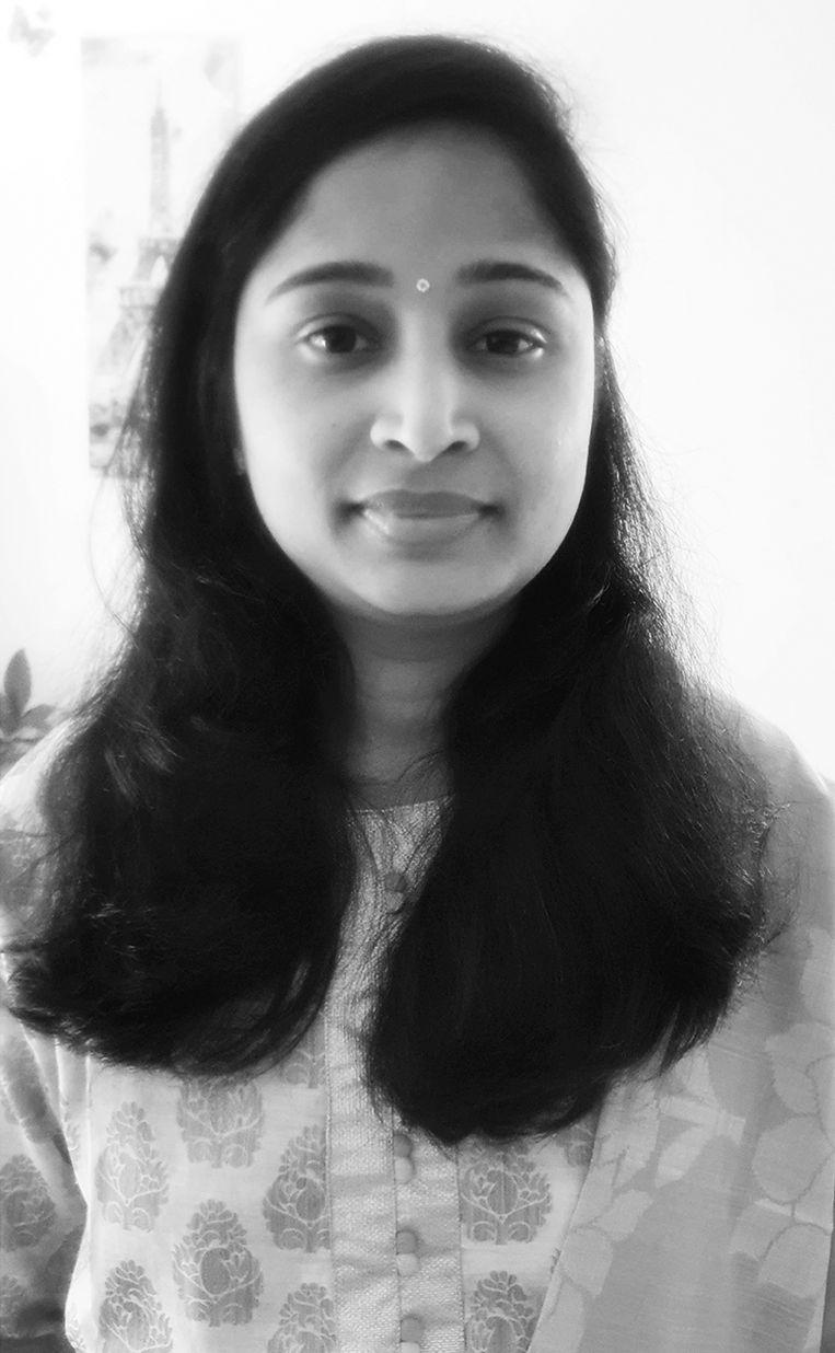 'Vier neven van me zijn allemaal positief getest. Ik hoop dat het bij milde klachten blijft' - Srilatha Satya. Beeld