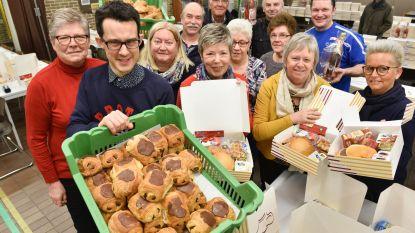 Vriendenkring van 'De Bosrank' levert valentijnsontbijten aan huis