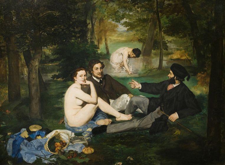 'Le déjeuner sur l'herbe' van Manet. Beeld © Artepics