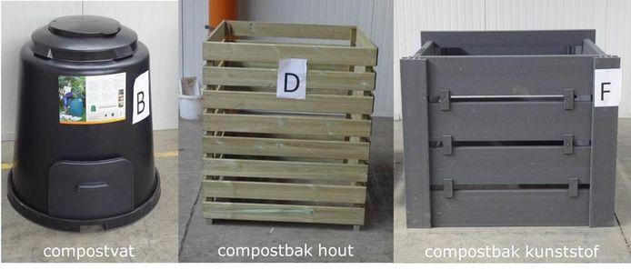 De gemeenten van ILvA verkopen compostvaten en compostbakken. Ideaal om de GFT-rekening de kop in te drukken.