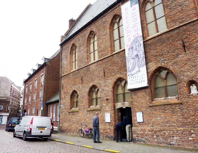 Stedelijk Museum in Zutphen na inbraak op 20 maart 2013. Foto Judah Bolink