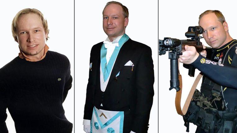 Anders Behring Breivik. Beeld AFP
