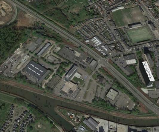 De site van Fluvius in Mechelen.