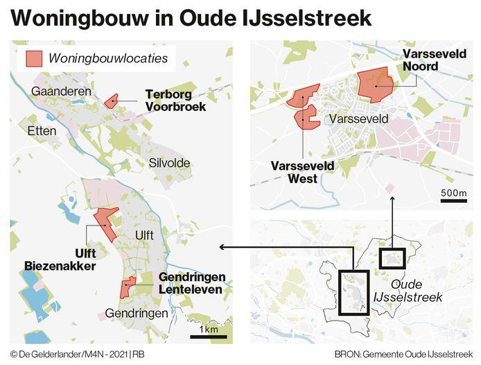 Nieuwe woningbouwlocaties in Oude IJsselstreek