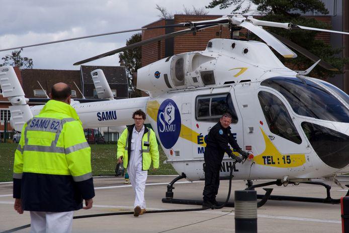 Hulpdiensten kwamen ter plaatse met een helikopter, maar konden het kind niet meer redden. (Illustratiefoto)
