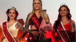 "West-Vlaamse is Miss Tattoo Belgium: ""Mijn manier om overleden oma te eren"""