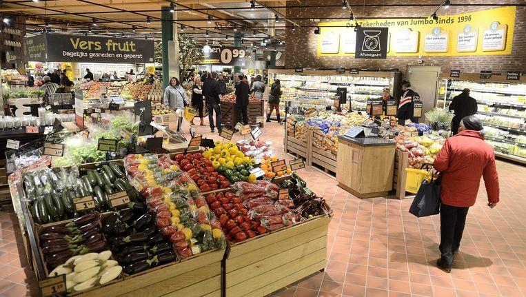 Een Jumbo-supermarkt in Breda Beeld ANP