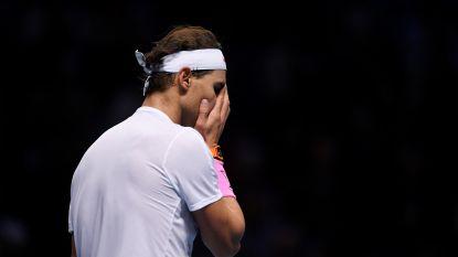 Zverev doet Nadal de das om, nummer één zal ook dit jaar ATP Finals niet winnen