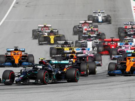 Red Bull valt hard, Ferrari bar en boos