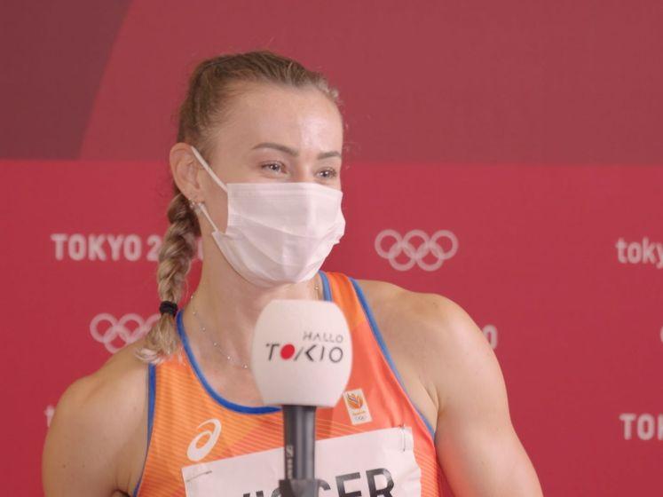 Nadine Visser naar finale: 'Ik maak nog wel kleine foutjes'