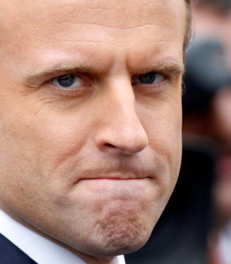 'Populariteit Franse president keldert'