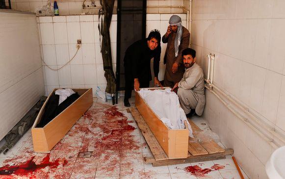 In Kaboel (Afghanistan) vielen deze week nog meer dan tien doden en 31 gewonden bij een bomaanslag.