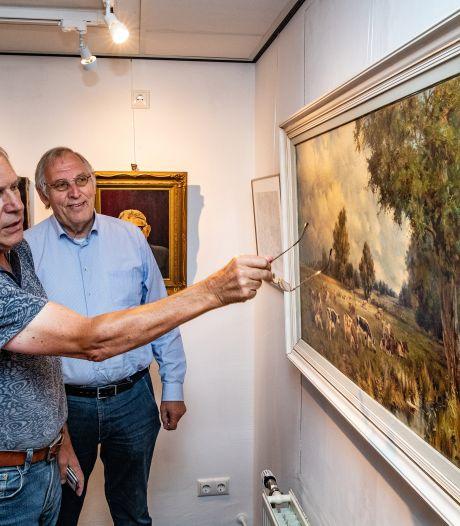 Verrassende kunst in Oudheidkamer Hool'tn van oude Holtense kunstenaars; van stukadoor tot aan huisschilder