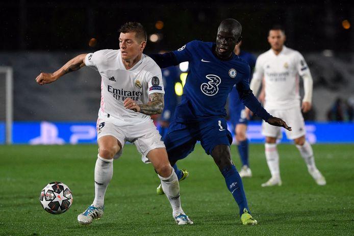 Ngolo Kanté, symbole de la bonne prestation de Chelsea.