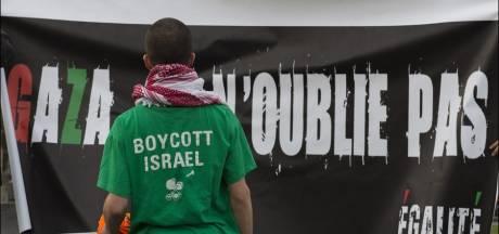 Nouvelle manifestation contre la venue de Shimon Peres à Bruxelles