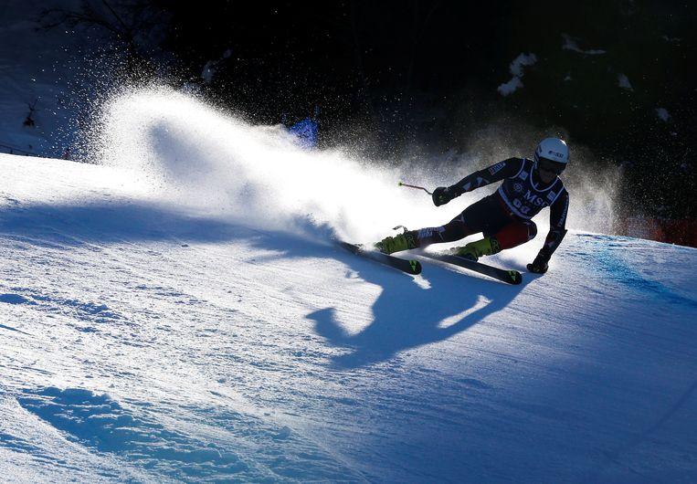 Een slalomskiester. Archiefbeeld Beeld REUTERS